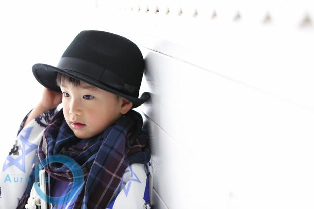 三歳男の子の七五三をおしゃれに撮影|豊島区Rくん