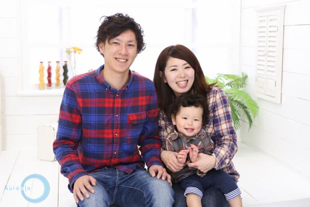 自然な家族写真-1