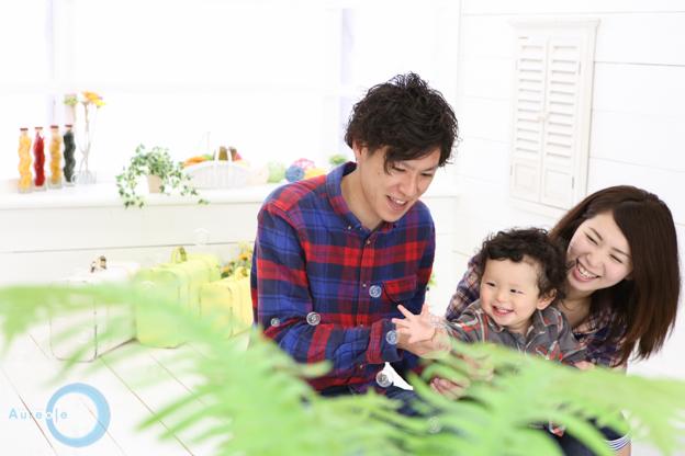 自然んな家族写真-2
