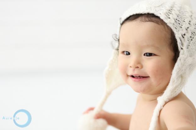1才誕生の撮影-4