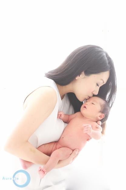 生後14日の新生児フォトを撮影