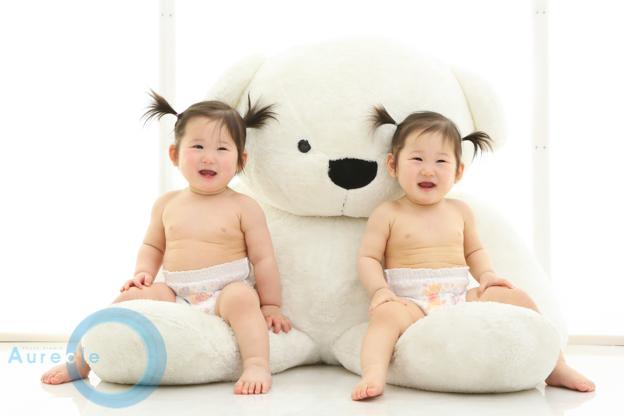 双子1歳誕生日20180518-2